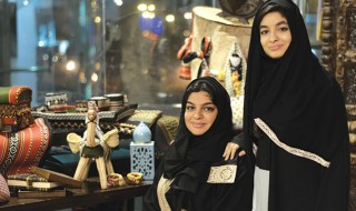 Nour Serafi (left) and her sister Zeina Serafi (right).