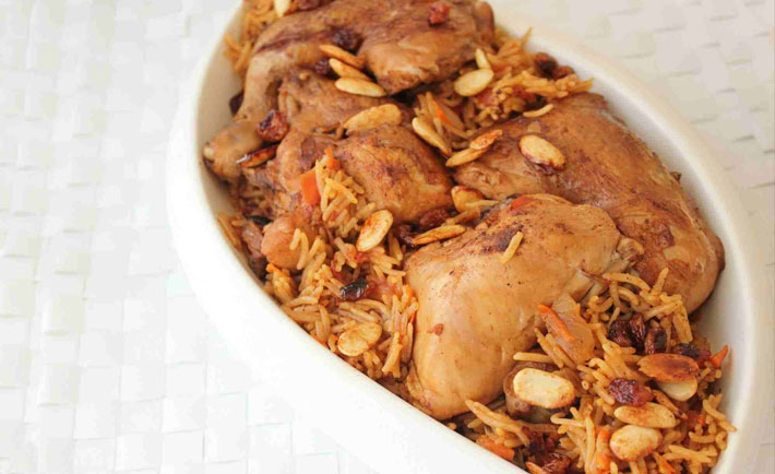 Kitchen Adventures Of A Saudi Nomad Chicken Kabsa Destination Ksa