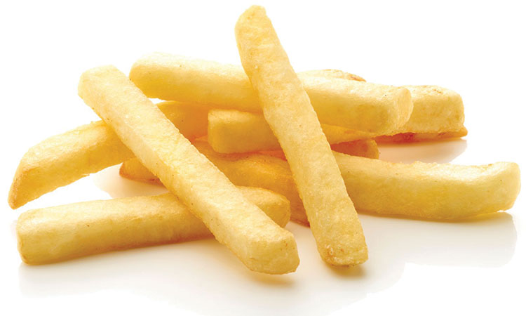 Large Fries (from a happy fast food place we shall not name) 510 calories = 524 burpees = 1 hour of Zumba = 2 hours of cleaning the house