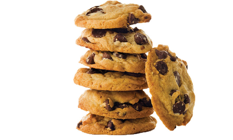 Chocolate Chip Cookie 130 calories = standing up while typing for 1 hour = 15-minute walk