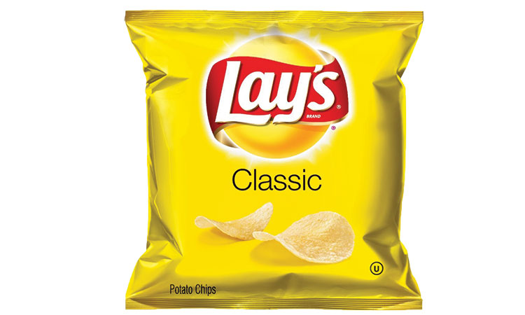 1 small pack of Lays Classic 160 calories = 37 minutes of dancing = 30 minutes of rearranging furniture.