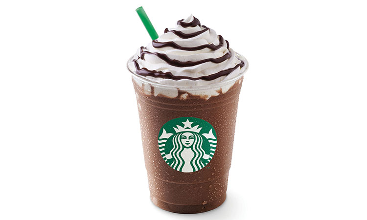 1 Grande Starbucks Mocha Frappuccino 396 calories = 50 minutes of jogging = 1.5 hours of pacing while talking on the phone.