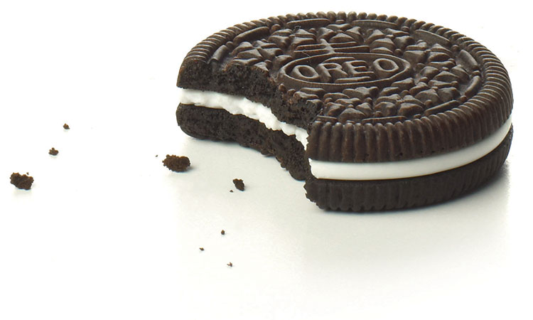 1 Oreo 40 calories = 10 minutes of walking.