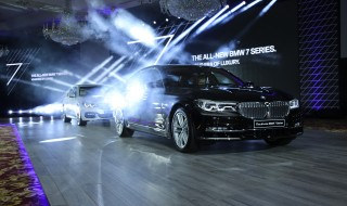 Mohamed Yousuf Naghi Motors reveal the all-new BMW 7 Series at the Riyad...
