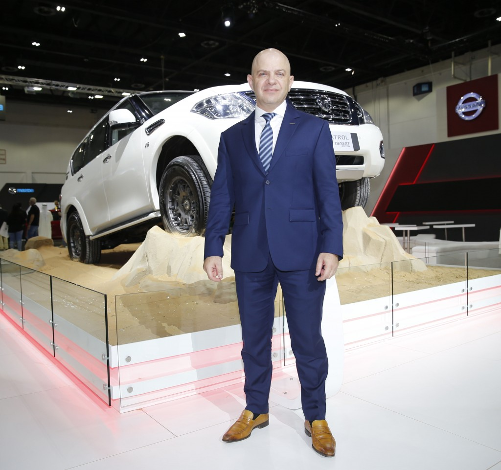 Samir Cherfan, Managing Director - Nissan Middle East - Dubai International Motor Show