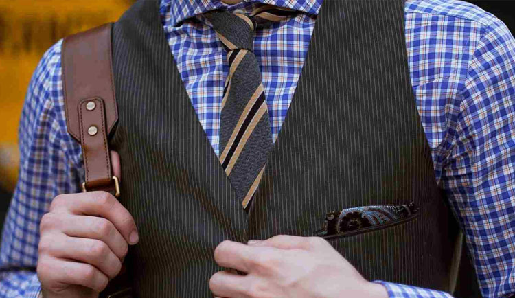 optimized-work-fashion-men-checked-shirt-and-tie