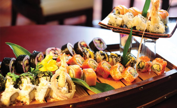 Jeddah s favorite sushi hotspot destination ksa for Art cuisine jeddah
