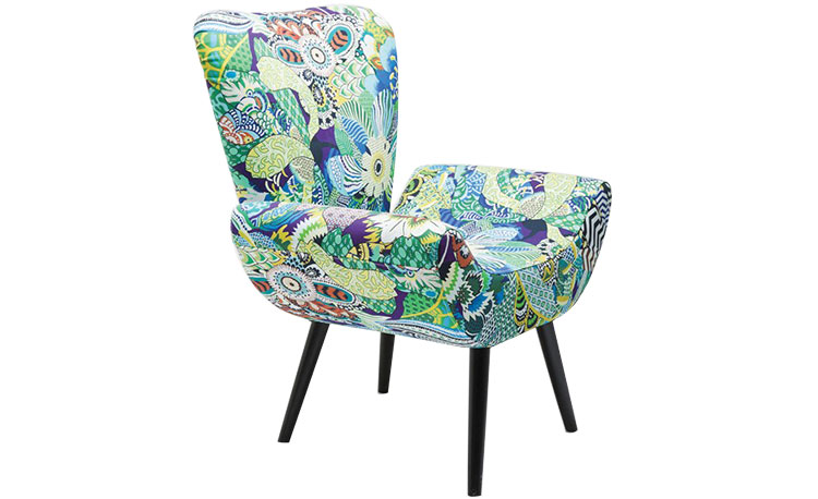 Armchair Wings Madagaskar  Location: Kare Design, Prince Sultan Rd.  (Available on order, delivered within 3 months) Price: SR 1,999