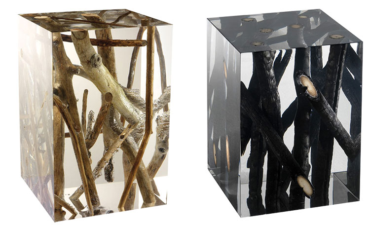 Spur Driftwood Side Table Location: Timothy Oulton (NV), Rawdah St.  (Available on order, delivered in 5 months)