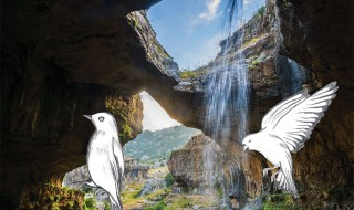 Waterfall-cave-lebanon
