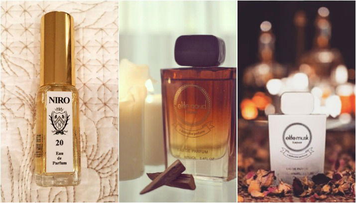 Durraa perfumes Collage