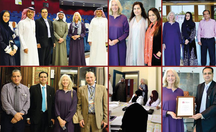 Ms. Susan Hackley (Managing Director of Harvard University Law School, USA) visited Global Business School (GBS), Jeddah