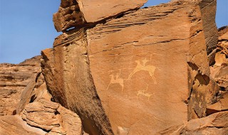 Horsemen-rock-art-Saudi-Arabia
