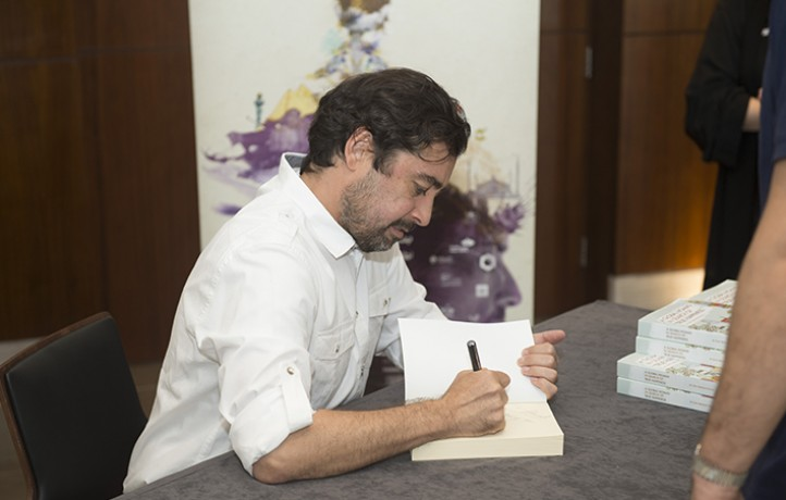 Book signing in Jeddah