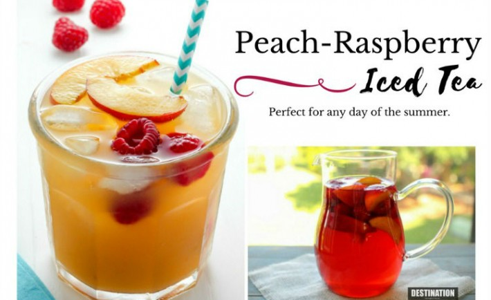 Peach Ras iced tea Recipe