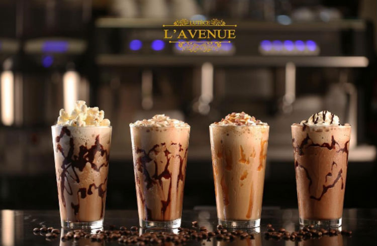 Popcorn Frappe - Lavenue Cafe Screen Shot 1437-11-06 at 1