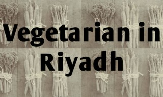 Vegetarian in riyadh