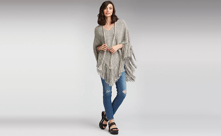 womens-ponchos-gray-chic-fringe-poncho-organic-cotton-clothing-eco-alpaca-knit-2