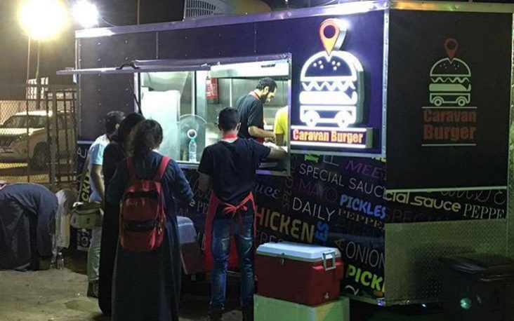 Caravan Burger Truck