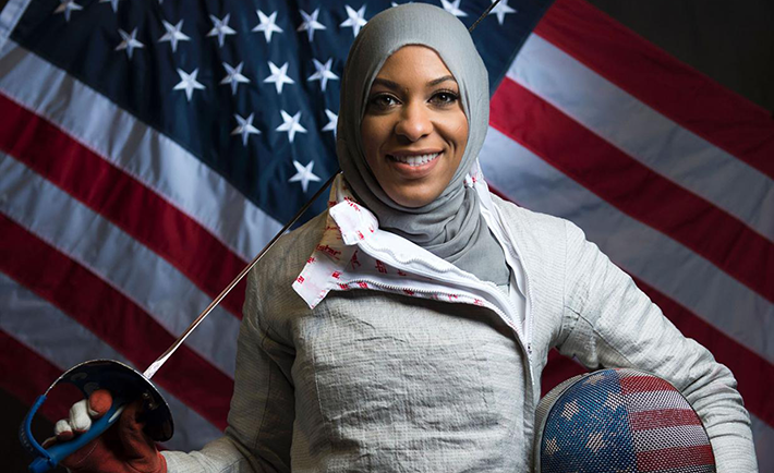 Photo Credit: themuslimvibe.com/Ibtihaj Muhammad