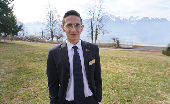 Abdul Latif Jameel is a first year student at the Swiss Hotel Management School (SHMS).