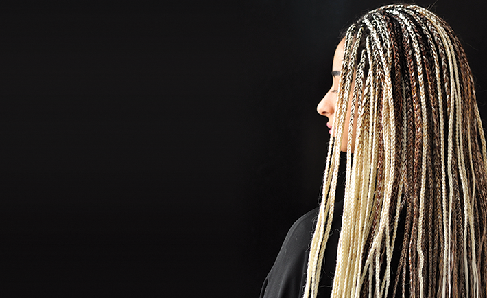 These braids can last two months as they are somewhat permanent, but not more.