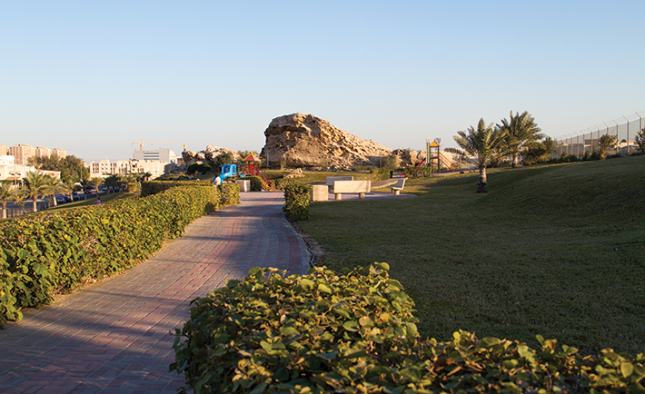 Muraikabat Mountain Park in Dammam
