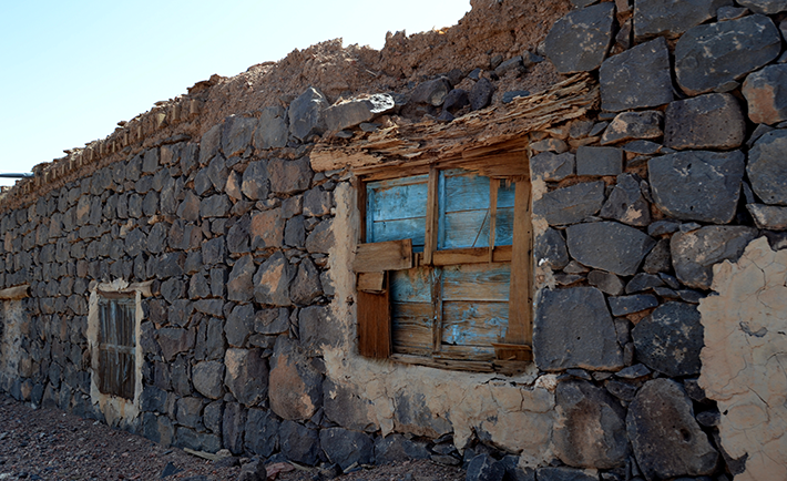 Old house in Khaybar.