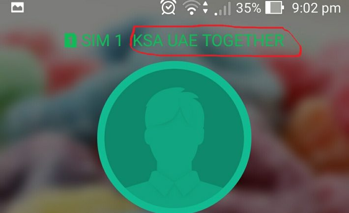 If Your Network Changed To Ksa Uae Together Here S Why Destination Ksa