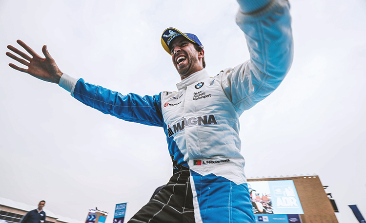 Antonio Felix da Costa of Portugal (for BMW I Andretti Motorsport) won the inaugural Saudia Ad Diriyah E Prix main race.