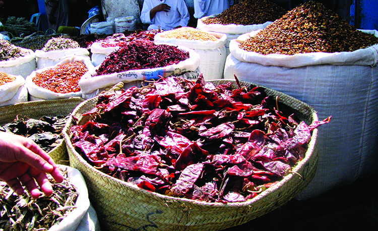 Purchase a variety of spices from Al Aziziyah